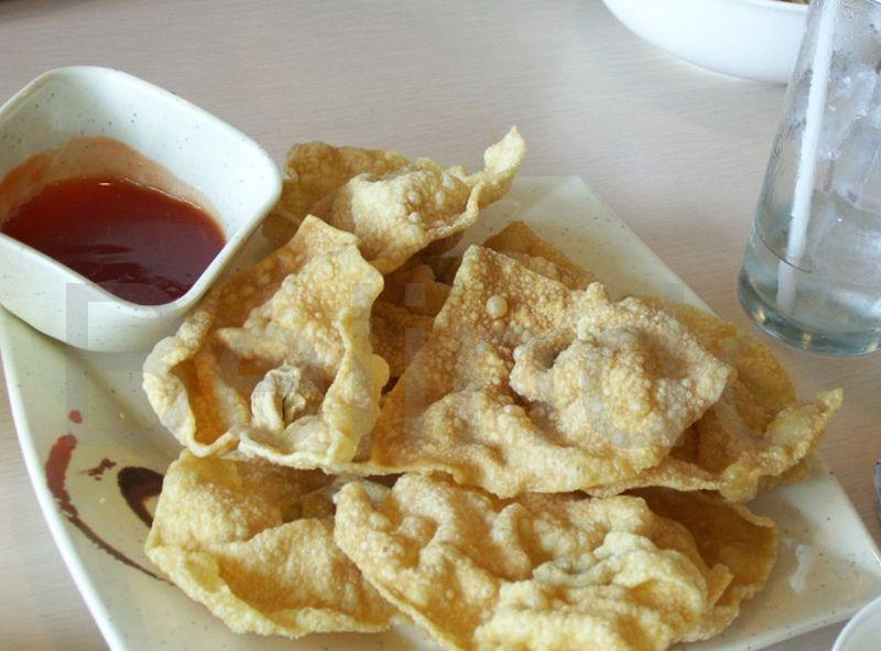 Recipe - Pangsit goreng - Pastry parcels stuffed with meat