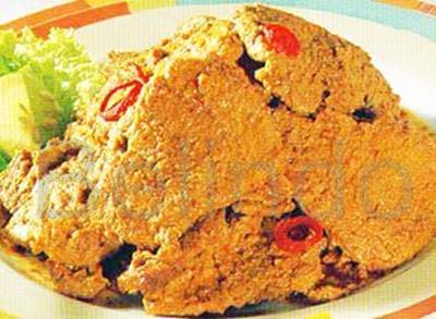 Recipe - Daging besengek - Spicy beef in coconut milk