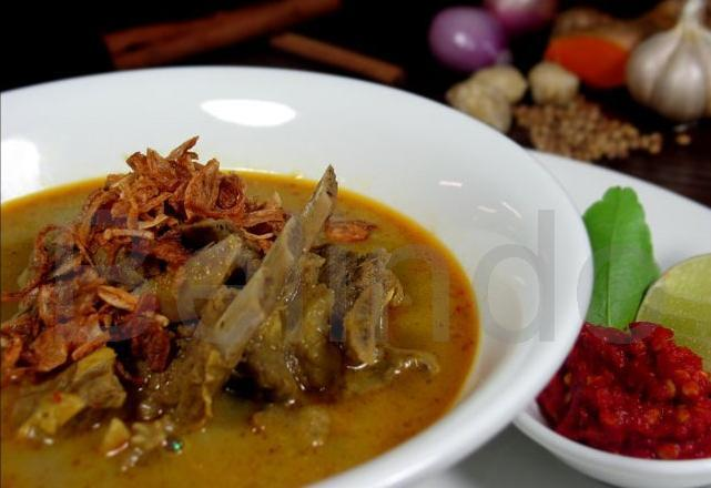 Recipe - Gulai kambing - Spiced lamb stew