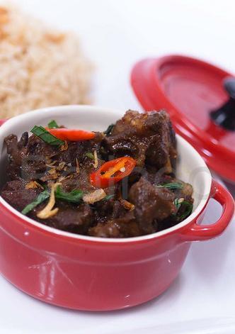 Recipe - Krengsengan kambing - Javanese stewed goat