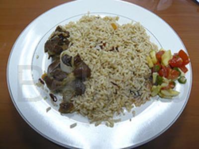 Recipe - Nasi kebuli - Rice with lamb