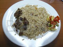 Recipe - Nasi kebuli - Rice with lamb