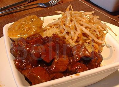 Recipe - Babi kecap - Pork in soy sauce