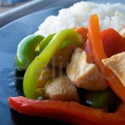 Recipe - Ayam asam manis - Sweet sour chicken