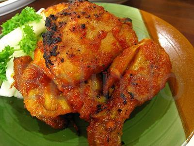 Recipe - Ayam Panggang Klaten - Chicken in Aromatic Nut Sauce