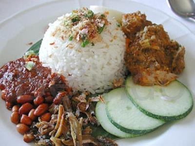 Recipe - Nasi lemak - Coconut rice