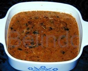 Recipe - Sambal kacang - Peanut sauce