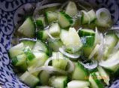 Recipe - Acar ketimun - Cucumber salad