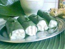Recipe - Lemper ayam - Sticky rice with chicken filling
