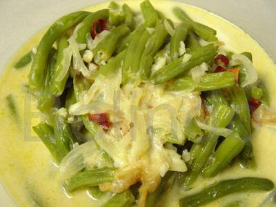 Recipe - Sambal goreng buncis - French beans Indonesian style